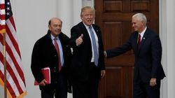 Les 17 membres du cabinet Trump sont plus riches que 126 millions d'Américains mis