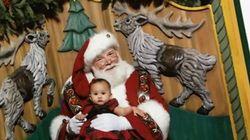 La photo de Noël beaucoup trop drôle de Chrissy