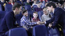 Justin Trudeau a vu «Rogue One» en primeur avec des enfants