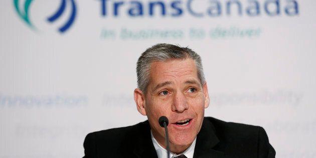 Le PDG de TransCanada Russ Girling