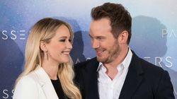 Jennifer Lawrence et Chris Pratt se narguent et c'est