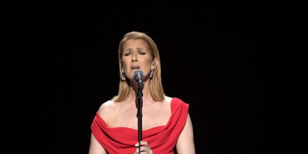 STAND UP TO CANCER - On Friday, Sept 9 at 8|7c, join Hollywood favorites for a live hour-long, commercial-free fundraising telecast to benefit groundbreaking cancer research. TABLOIDS OUT; NO BOOK PUBLISHING WITHOUT PRIOR APPROVAL. NO ARCHIVE. NO RESALE. (ABC/Image Group LA)CELINE DION