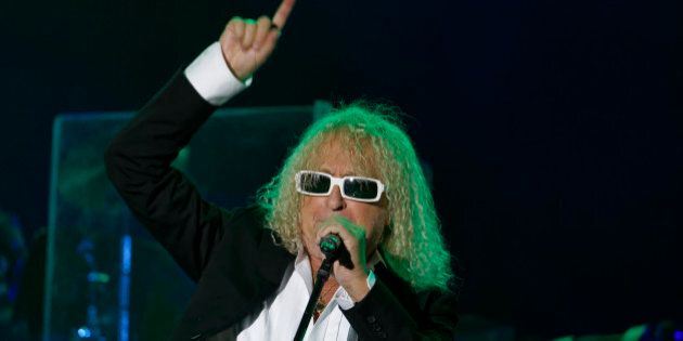 LA COURNEUVE, FRANCE - September 10: Singer-songwriter Michel Polnareff performs on the main stage of...