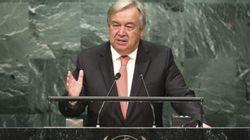 Le prochain patron de l'ONU appelle à une