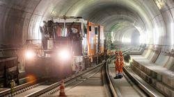 Voici où se trouve le plus long tunnel au monde maintenant ouvert au