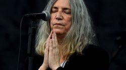 Patti Smith était très (trop) émue de chanter pour Bob