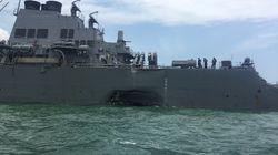 10 marins américains manquent à l'appel après une collision près de