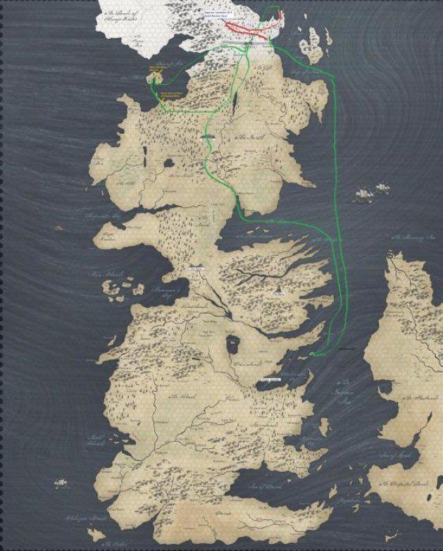 «Game of Thrones»: les personnages ne se déplacent-ils pas un peu trop vite? [ATTENTION