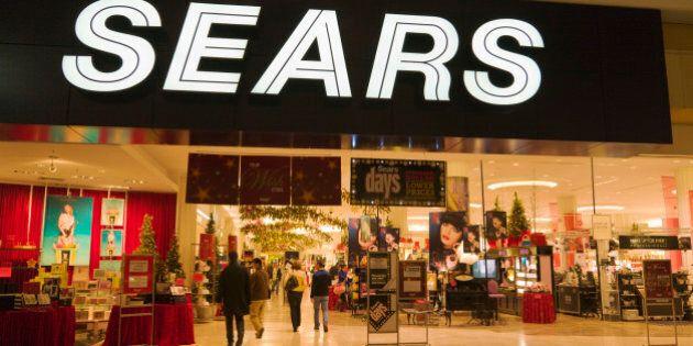 Sears department store, Eaton Centre, Toronto,