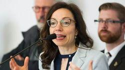 Martine Ouellet plaide pour la promotion de l'indépendance à