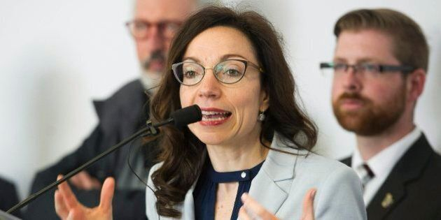 Martine Ouellet lance un plaidoyer pour la promotion de l'indépendance à