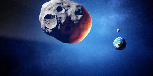 Un petit astéroïde va passer tout près de la Terre en