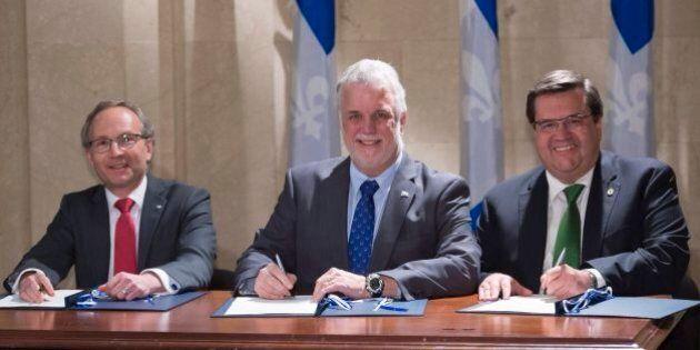 Décentralisation de pouvoirs de Québec vers Montréal: Coderre se dit