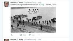 Donald Trump fait (encore) une gaffe sur