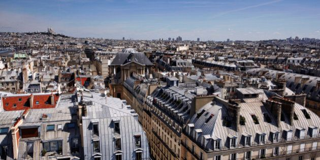Cityscape of North Paris and