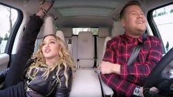 Madonna fait preuve de souplesse dans son «Carpool