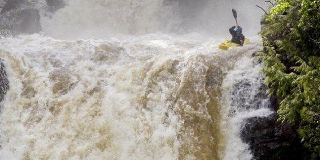 Une chute libre de 67 pieds en