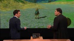 La Switch, la nouvelle console Nintendo, a fait sa première apparition publique à la