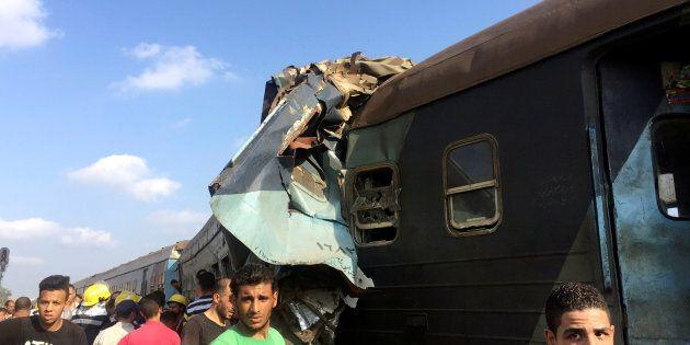 Au moins 36 morts dans une collision de trains en