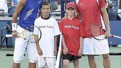 En 2008, Nadal posait avec Denis Shapovalov