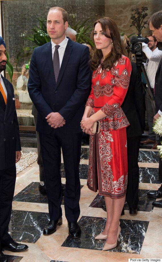 Visite royale en Inde: les styles de Kate Middleton