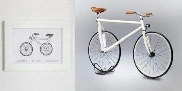 Ces vélos dessinés à main levée ne rouleraient pas bien loin s'ils