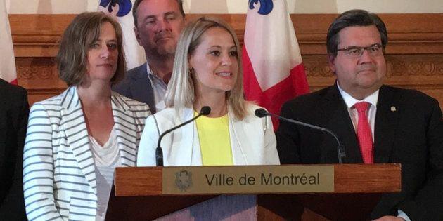 Elsie Lefebvre rejoint l'équipe du maire