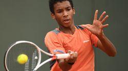 Félix Auger-Aliassime, 15 ans, s'incline à Roland-Garros