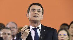 Présidentielle française: le premier ministre Manuel Valls se
