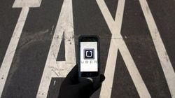 Perturbations de l'industrie du taxi contre Uber