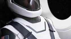 La combinaison spatiale d'Elon Musk a de quoi rendre jaloux les astronautes de la
