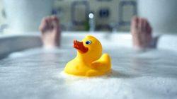 Les bains en CHSLD, on s'en