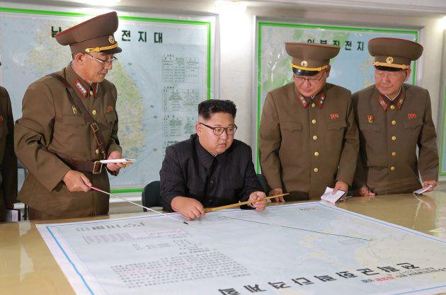 Projet de missiles vers Guam: Kim Jong-Un appuie sur