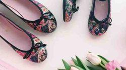 Des ballerines pour habiller les pieds des grandes et des petites: