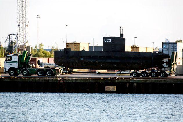 Le sous-marin Nautilus, que les policiers traitent comme une scène de