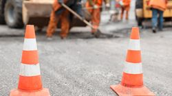 Travaux pour le prolongement de la route 138, annoncé par