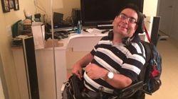 Ce paraplégique a eu seulement deux bains en cinq