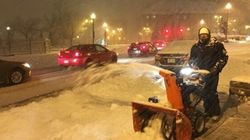 La première bordée de neige cause des désagréments dans la région de