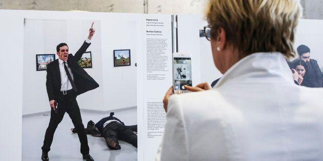 « C'est une grande photo, mais ce n'est pas une belle photo», a déclaré Burhan Özbilici, photojournaliste...