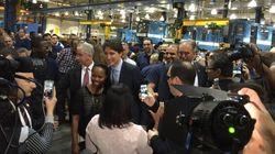 Prolongement de la ligne bleue: «Nous allons le faire» dit Trudeau