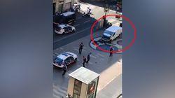 Les images de la panique après l'attentat sur La Rambla à