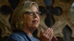 Elizabeth May prête à aller en prison pour bloquer le pipeline de Kinder Morgan
