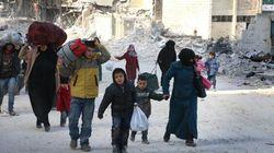 Près de 20 000 personnes ont fui Alep-Est en 48