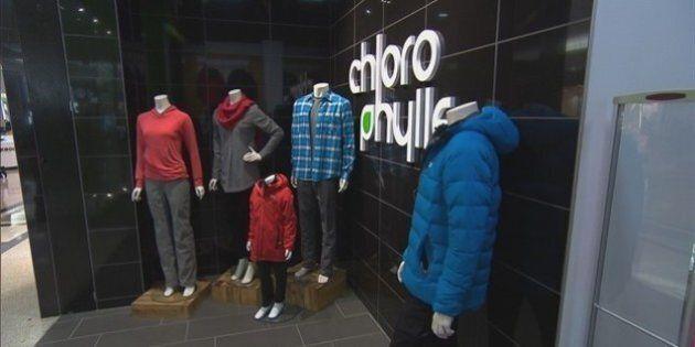 La chaîne de magasins Chlorophylle est