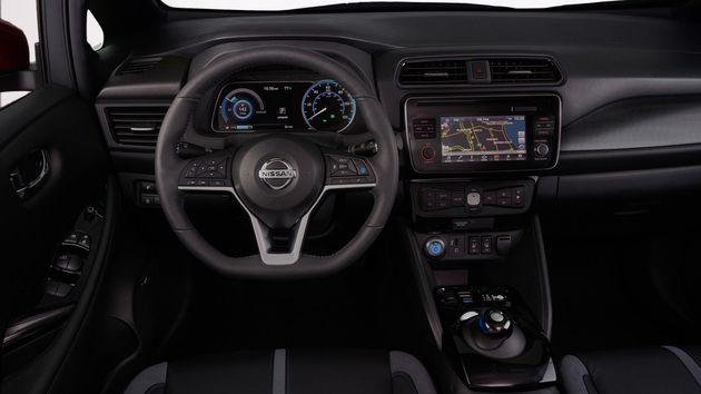 Nissan dévoile la nouvelle Leaf 100 %
