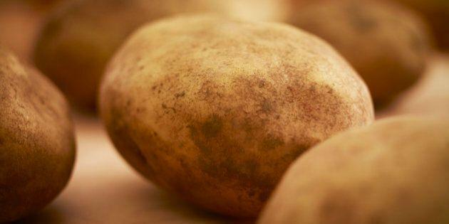 Close up of organic