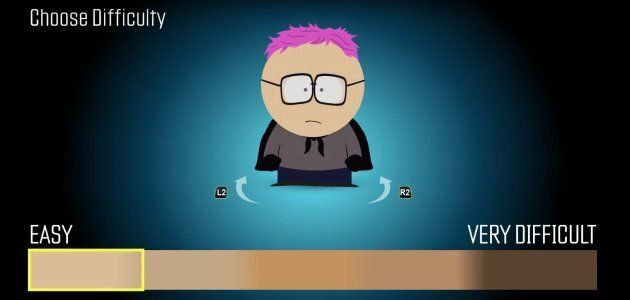 Le niveau de difficulté lié à la couleur de la peau dans «South Park: The Fractured But