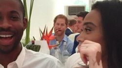 Le prince Harry «photobombe» le mannequin Winnie Harlow
