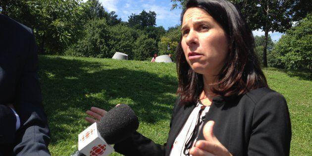 Valérie Plante, chef de Projet Montréal