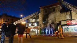 Incendie criminel sur le Plateau-Mont-Royal